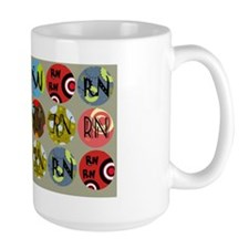 Colorful Circles RN Mug