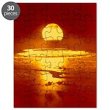 Bikini Atoll atomic bomb explosion 1946 Puzzle