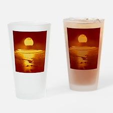Bikini Atoll atomic bomb explosion  Drinking Glass