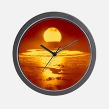 Bikini Atoll atomic bomb explosion 1946 Wall Clock