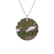 Ibis Couple Necklace