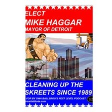 Mike Haggar for Mayor Postcards (Package of 8)
