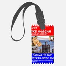 Mike Haggar for Mayor Luggage Tag
