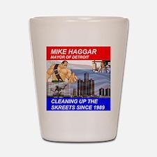 Mike Haggar for Mayor Shot Glass