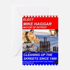 Mike Haggar for Mayor Greeting Card