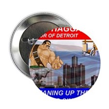 "Mike Haggar for Mayor 2.25"" Button"
