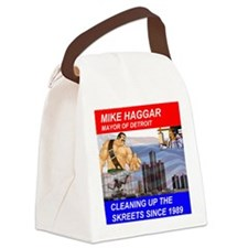 Mike Haggar for Mayor Canvas Lunch Bag