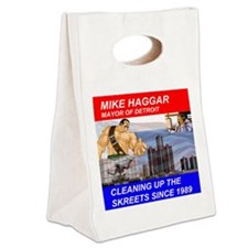 Mike Haggar for Mayor Canvas Lunch Tote