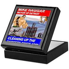 Mike Haggar for Mayor Keepsake Box
