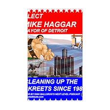 Mike Haggar for Mayor Decal