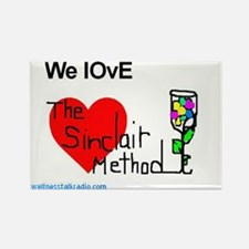 We Love The Sinclair Method Rectangle Magnet