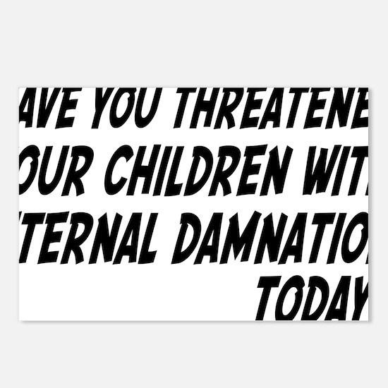 damnationrectangle Postcards (Package of 8)