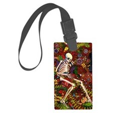 Day Of The Dead Loteria Luggage Tag