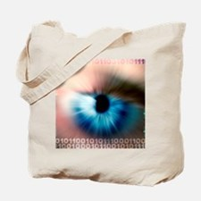 Biometric eye scan Tote Bag