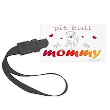 pit bull Luggage Tag
