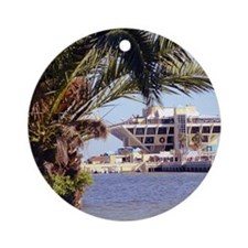 St. Pete Pier Round Ornament