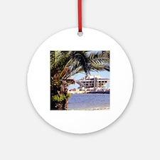 St. Pete Pier Round Ornament