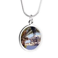 St. Pete Pier Silver Round Necklace