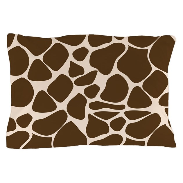 Giraffe Print Animal Pattern Pillow Case by Admin_CP3923695