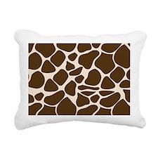 Giraffe Print Animal Pat Rectangular Canvas Pillow