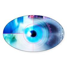 Biometric eye scan Decal