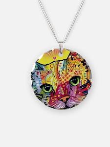 Psychadelic Cat Necklace