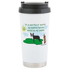 boston terrier Travel Mug