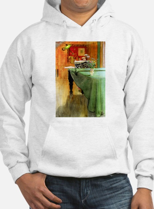 At the Piano Hoodie