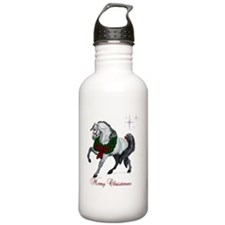 Christmas Andalusian H Water Bottle