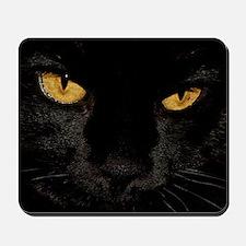 Sexy Black Cat Mousepad