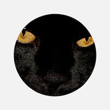 "Sexy Black Cat 3.5"" Button"