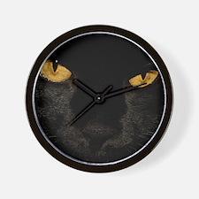 Sexy Black Cat Wall Clock