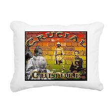 Crucial Culture Rectangular Canvas Pillow