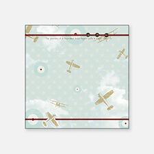 "Little Wanderer Large Blank Square Sticker 3"" x 3"""