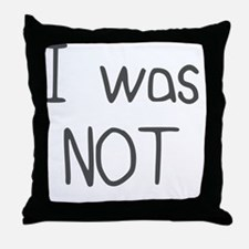 I Was Planned (2) Throw Pillow