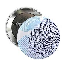 "Biometric fingerprint scan, artwork 2.25"" Button"