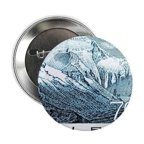 "1983 China Mount Everest Postage Stam 2.25"" Button"