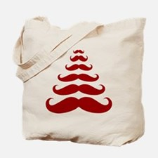 Merry Moustache Tote Bag