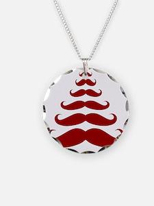Merry Moustache Necklace