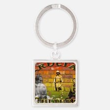 rucial Culture Square Keychain