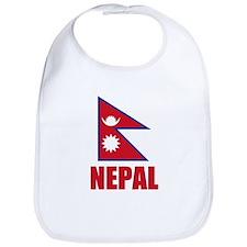 Nepal Flag Bib