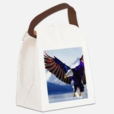 All American Eagle Canvas Lunch Bag