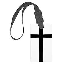 Christian Cross Luggage Tag