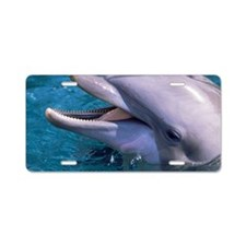Bottlenose dolphin Aluminum License Plate