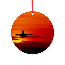 Boeing 747 Round Ornament