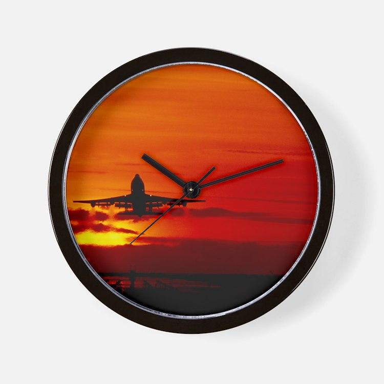 Boeing 747 Wall Clock