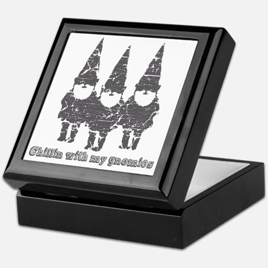 Chillin with my gnomies Keepsake Box