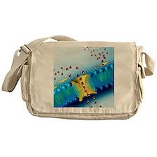 Aquaporins, artwork Messenger Bag