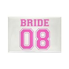 Bride 08 (Pink) Rectangle Magnet
