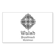 Walsh Rectangle Decal